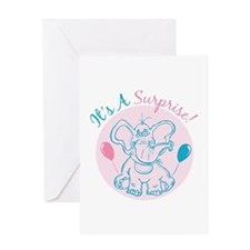 Its a Suprise Greeting Cards