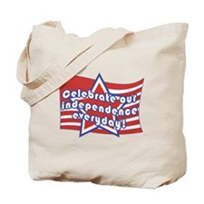 Celebrate Independence Tote Bag