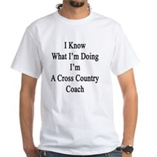 I Know What I'm Doing I'm A Cross Co Shirt