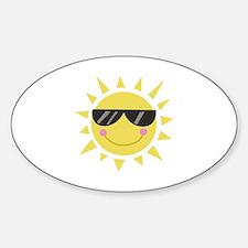 Smile Sun Decal