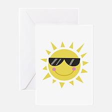 Smile Sun Greeting Cards