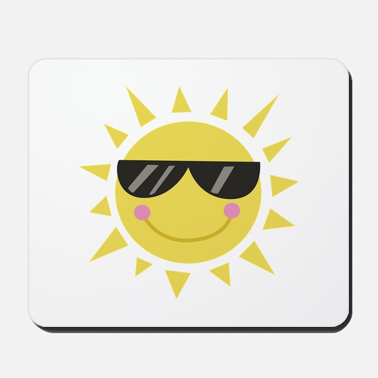 Smile Sun Mousepad