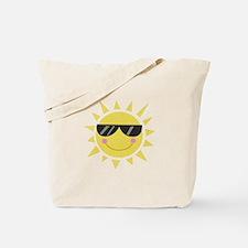 Smile Sun Tote Bag