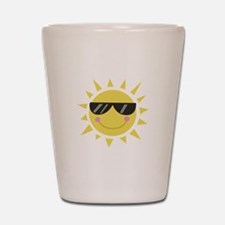 Smile Sun Shot Glass