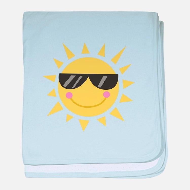 Smile Sun baby blanket