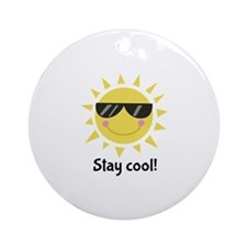 Stay Cool Ornament (Round)