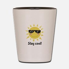 Stay Cool Shot Glass