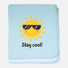 Stay Cool baby blanket