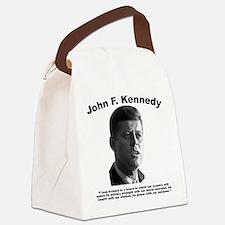 JFK Power Canvas Lunch Bag