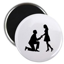 "Wedding Marriage Proposal 2.25"" Magnet (10 pack)"