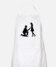 Wedding Marriage Proposal Apron