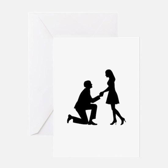 Wedding Marriage Proposal Greeting Card