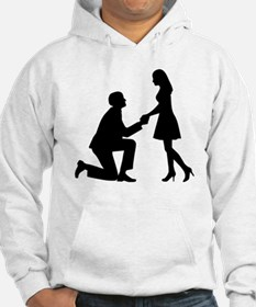 Wedding Marriage Proposal Hoodie