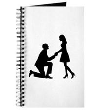 Wedding Marriage Proposal Journal