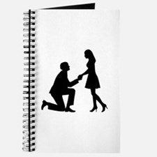 Wedding Marriage Proposal Journal