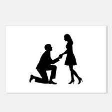 Wedding Marriage Proposal Postcards (Package of 8)