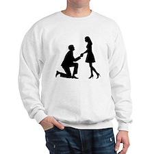 Wedding Marriage Proposal Sweatshirt