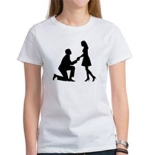 Wedding Marriage Proposal Tee