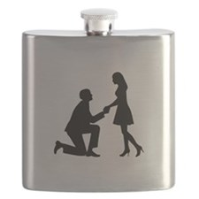 Wedding Marriage Proposal Flask