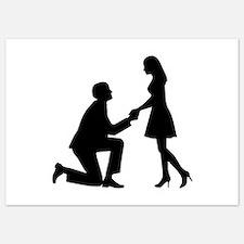 Wedding Marriage Proposal 5x7 Flat Cards