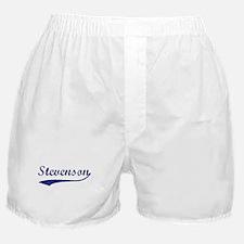 Stevenson - vintage (blue) Boxer Shorts