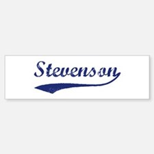 Stevenson - vintage (blue) Bumper Bumper Bumper Sticker