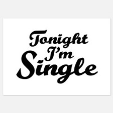 Tonight I'm single Invitations