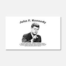 JFK Liberty Car Magnet 20 x 12