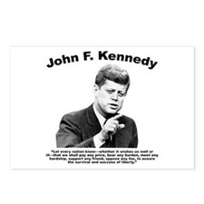JFK Liberty Postcards (Package of 8)