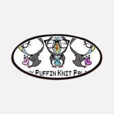 Geeky Puffin Knit Palooza Patches