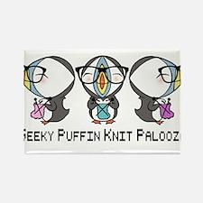 Geeky Puffin Knit Palooza Magnets