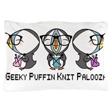 Geeky Puffin Knit Palooza Pillow Case