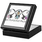 Geeky Puffin Knit Palooza Keepsake Box