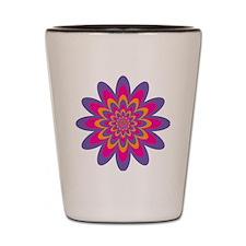 Pop Art Flower Shot Glass