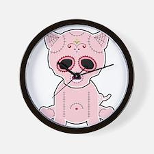 Sugar Piggie - Color Wall Clock