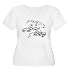 Hawaii Aloha Friday Urban Island Plus Size T-Shirt