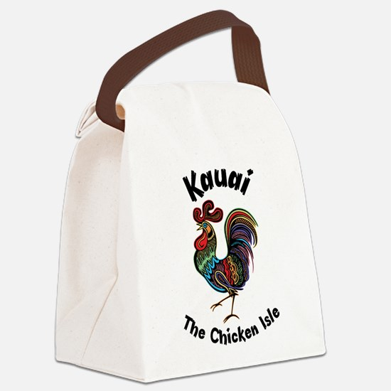 Kauai - The Chicken Isle Canvas Lunch Bag