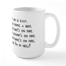 My job in hell Mug