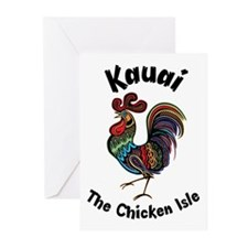 Kauai - The Chicken Isle Greeting Cards