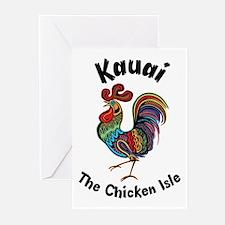 Kauai - The Chicken Isle Greeting Cards