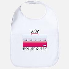 Hot Roller Queen Bib