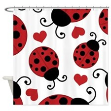 ladybug lover Shower Curtain