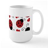 Ladybug Large Mugs (15 oz)