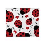 Ladybug Fleece Blankets