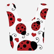 ladybug lover Bib