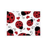 Ladybug 5x7 Rugs