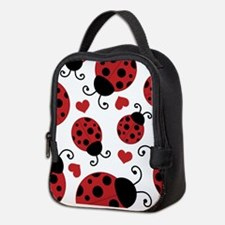 ladybug lover Neoprene Lunch Bag
