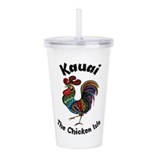 Kauai - The Chicken Is Acrylic Double-wall Tumbler