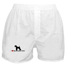 I Love My Kerry Blue Terrier Boxer Shorts