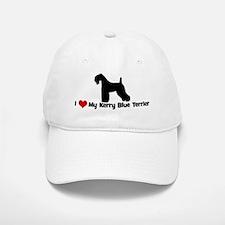 I Love My Kerry Blue Terrier Baseball Baseball Cap